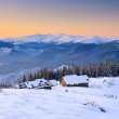 Mountain house — Stockfoto