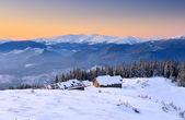 Mountain house — Stockfoto