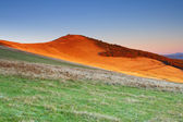 Sunrise in the mountains landscape — Stock Photo