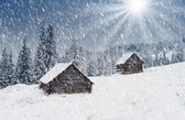 горный дом — Стоковое фото
