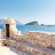 View on old town of Budva — Stock Photo #32003469