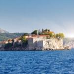 Постер, плакат: Sveti Stefan small islet and resort in Montenegro
