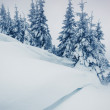 Fantastic winter landscape — Stockfoto