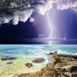 Stock Photo: Summer storm
