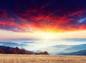 山の朝 — ストック写真