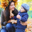 Mother and baby boy — Stock Photo #34938093