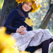 Autumn woman — Stock Photo #34939203