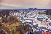 Historic city of Salzburg — Stock Photo