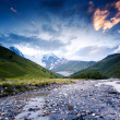 River in mountain valley — Stock Photo #49185233