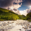 River in mountain valley — Stock Photo #49185257