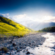 River in mountain valley — Stock Photo #49185731