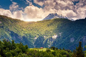 Mountain landscape of georgia — Stock Photo