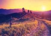 Karpatské krajiny — Stock fotografie