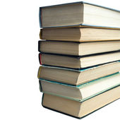 A pile of class books — Stock Photo