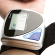 Blood pressure measuring instrument. — Stock Photo