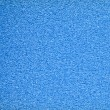 Blue foam rubber texture. — Stock Photo