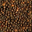 Coffee beans closeup background. — Stock Photo