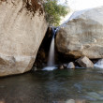 Buckeye Flat Waterfall — Stock Photo