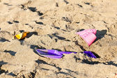 Beach toys — Stock Photo