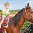 Horse ride — Stock Photo #13331627