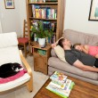 Afternoon Nap — Stock Photo