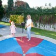 Stock Photo: Mini Golf