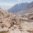 Stock Photo: Mt Whitney Trail