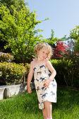Spring in a garden — Stock Photo