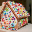 Gingerbread House Workshop - Stock Photo