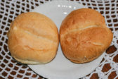 Kaiser roll — Stock Photo