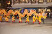 Chinese New Year Parade in Chinatown — Stock fotografie