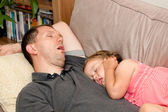Nap together — Stock Photo