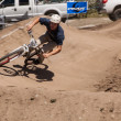 APTOS VILLAGE - APRIL 14: 4th Annual Santa Cruz Mountain Bike Fe - Stock Photo