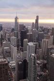 Hancock tower chicago manzarası — Stok fotoğraf