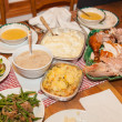 Thanksgiving dinner — 图库照片