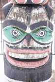 Kwagulth Totem Pole — Stock Photo