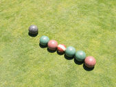 Bocce — Stock Photo