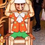 Bartolucci the Italian art of woodworking — Stock Photo