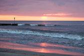 Twilight on a beach — Stock Photo