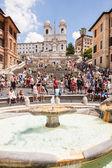 Fontana della barcaccia — Zdjęcie stockowe