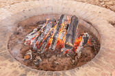 Fire Pit — Stock Photo