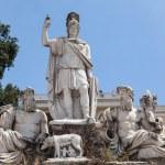 ������, ������: Dea Roma fountain