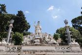 Dea Roma fountain — Stock Photo