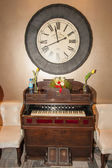 Vintage Harmonium — Stock Photo