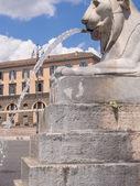 Fontana dell Obelisco — Foto Stock