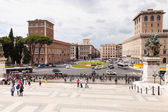 Piazza Venezia — Stock Photo