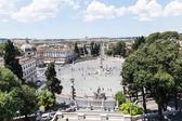 Piazza del Popolo — Stock Photo