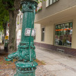 Street Water Pump in Berlin — Stock Photo #39759415