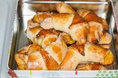 Fresh crescent rolls — Stock Photo