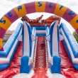 Inflatable jump house — Stock Photo #40767511